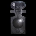"Harold-Balazs-ART Untitled - Sculpture - Iron - 30""x16""x8""- ca. 80's"