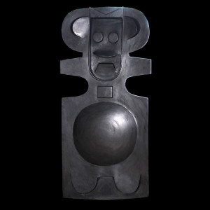 "Harold-Balazs-ART Untitled - Sculpture - Iron - 30""x16""x8""- ca. 80's"
