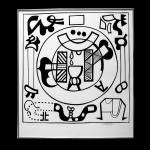 "Harold-Balazs-ART Uncle Harold's Tarot - print 9/50 - Ink on Paper - 26""x23-1/4"" - Oct.1970"